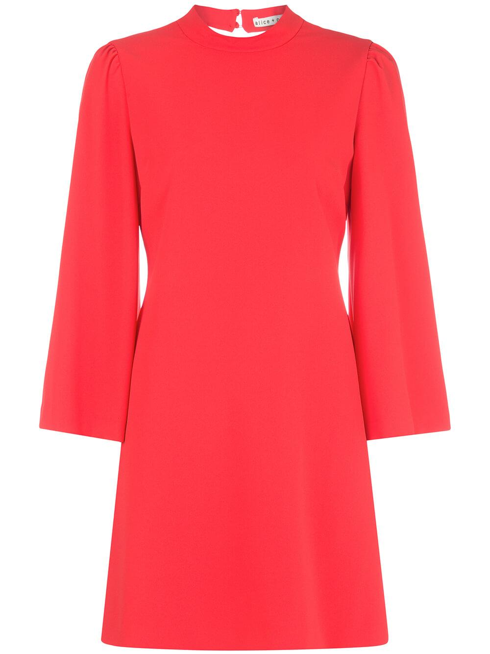 Bailey Bell Sleeve Open Back Dress Item # CC912202512