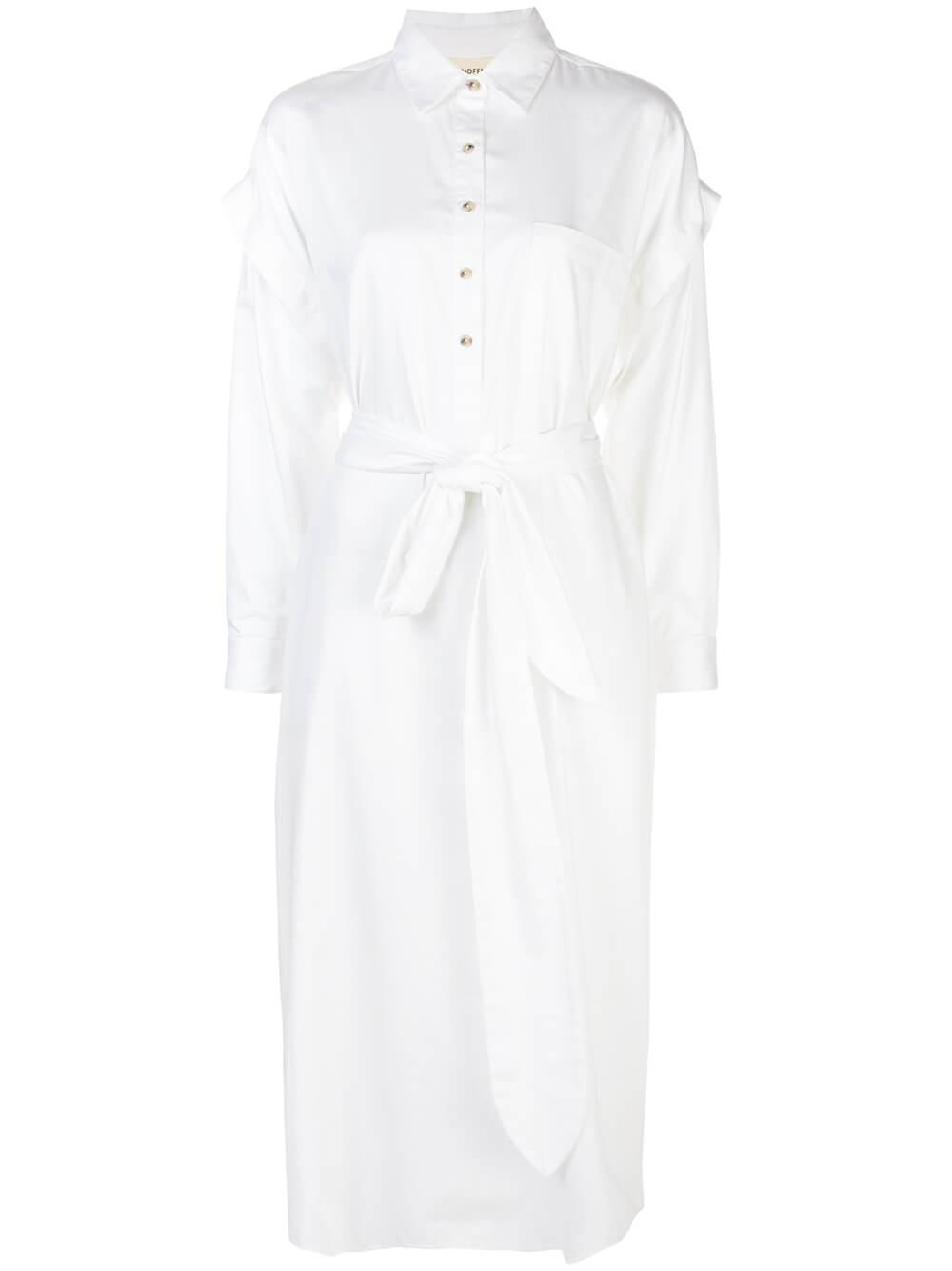 Cameron Cotton Removable Sleeve Dress Item # W012211720