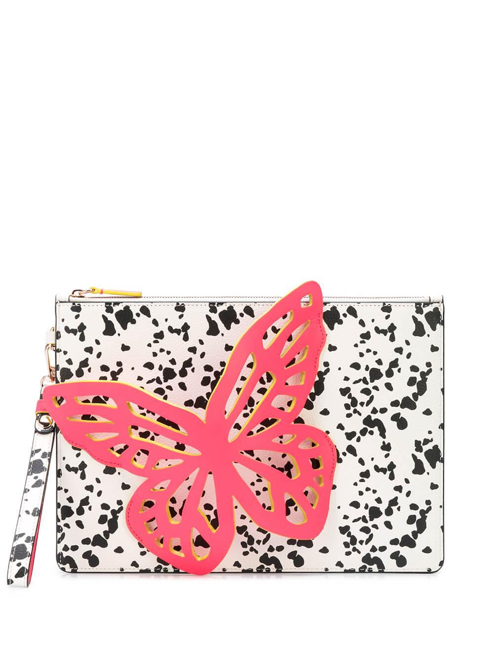 Flossy Butterfly Pouchette Neon Item # BSS20007
