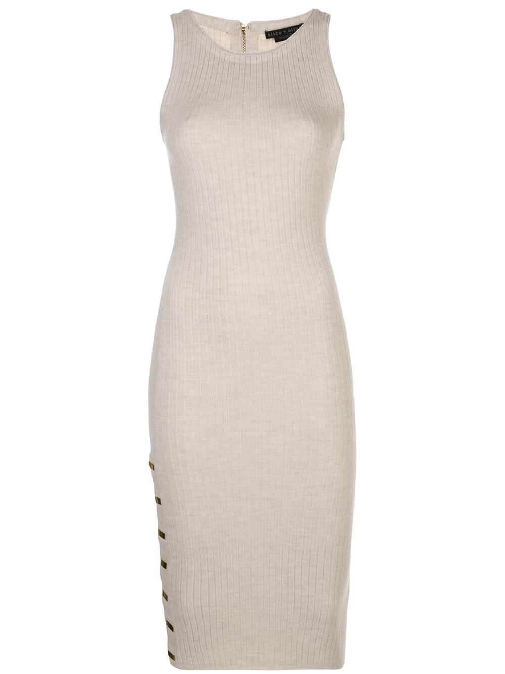 Jenner Crew Neck Slim Knit Dress Item # CL000533728