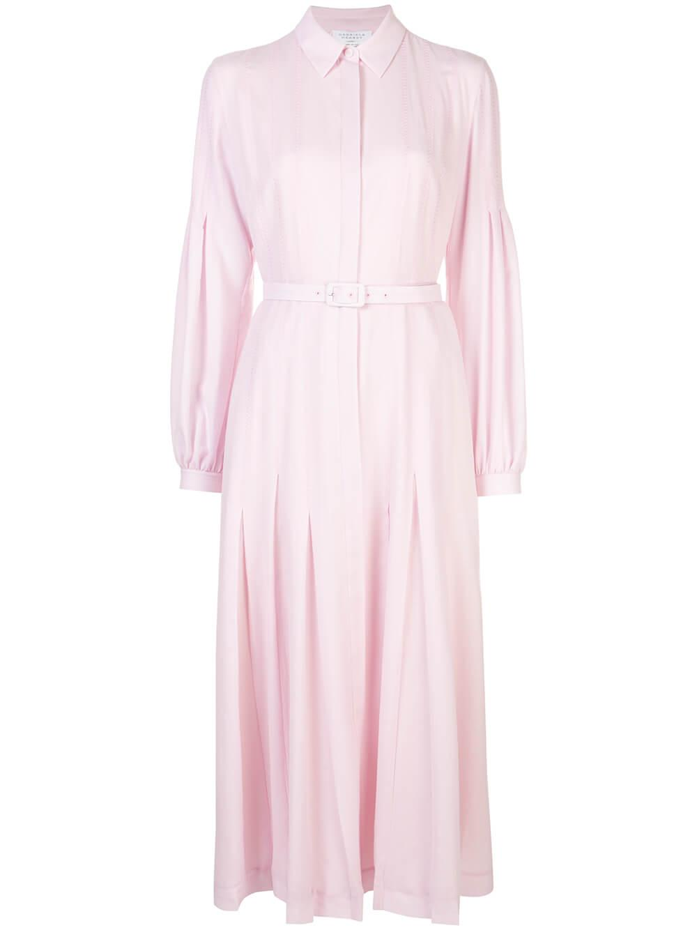 Chelsea Long Sleeve Cashmere Gauze Dress