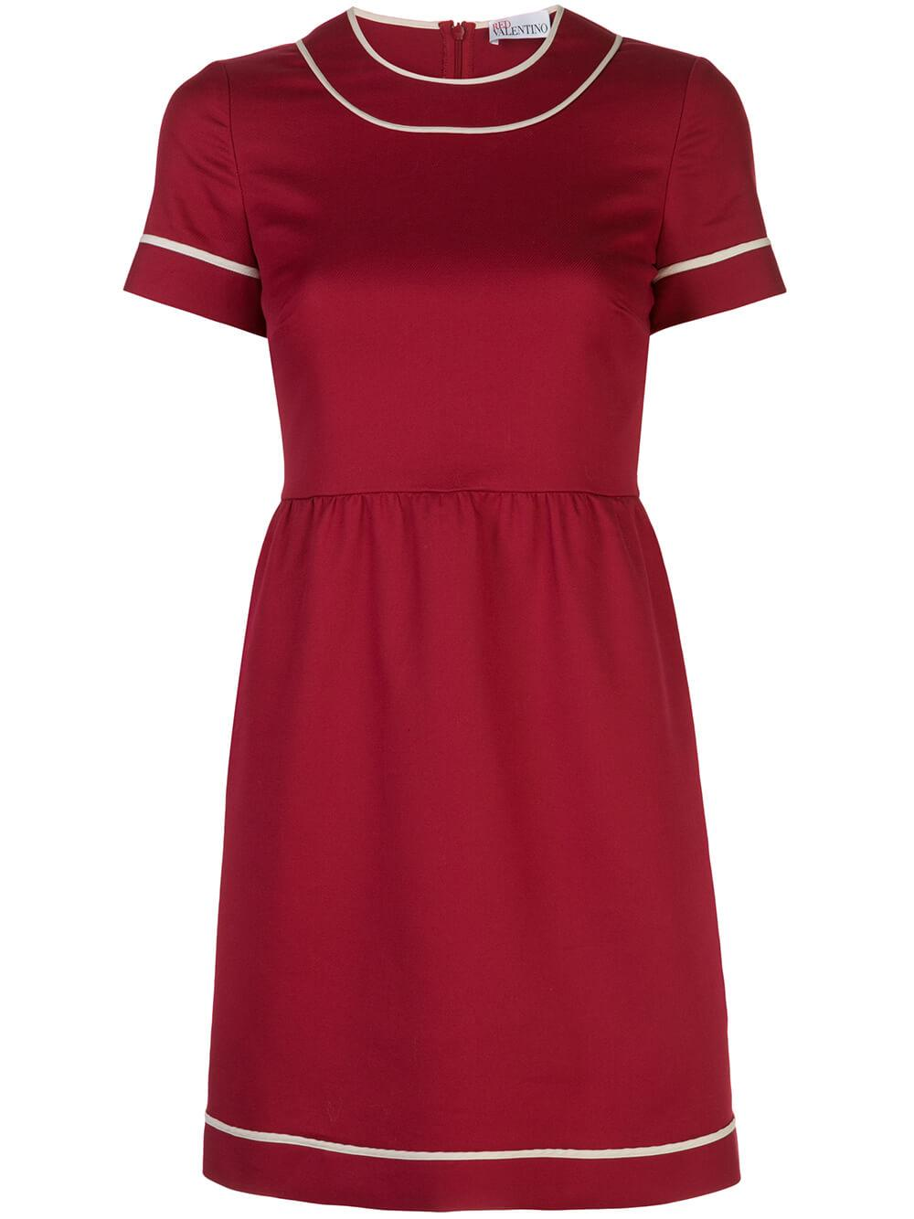 Short Sleeve Cotton Dady Short Dress Item # TR3VAM103M7