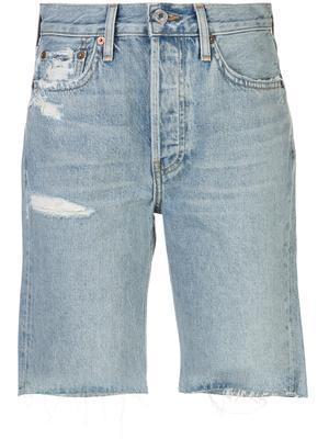 80`s Long Jean Short