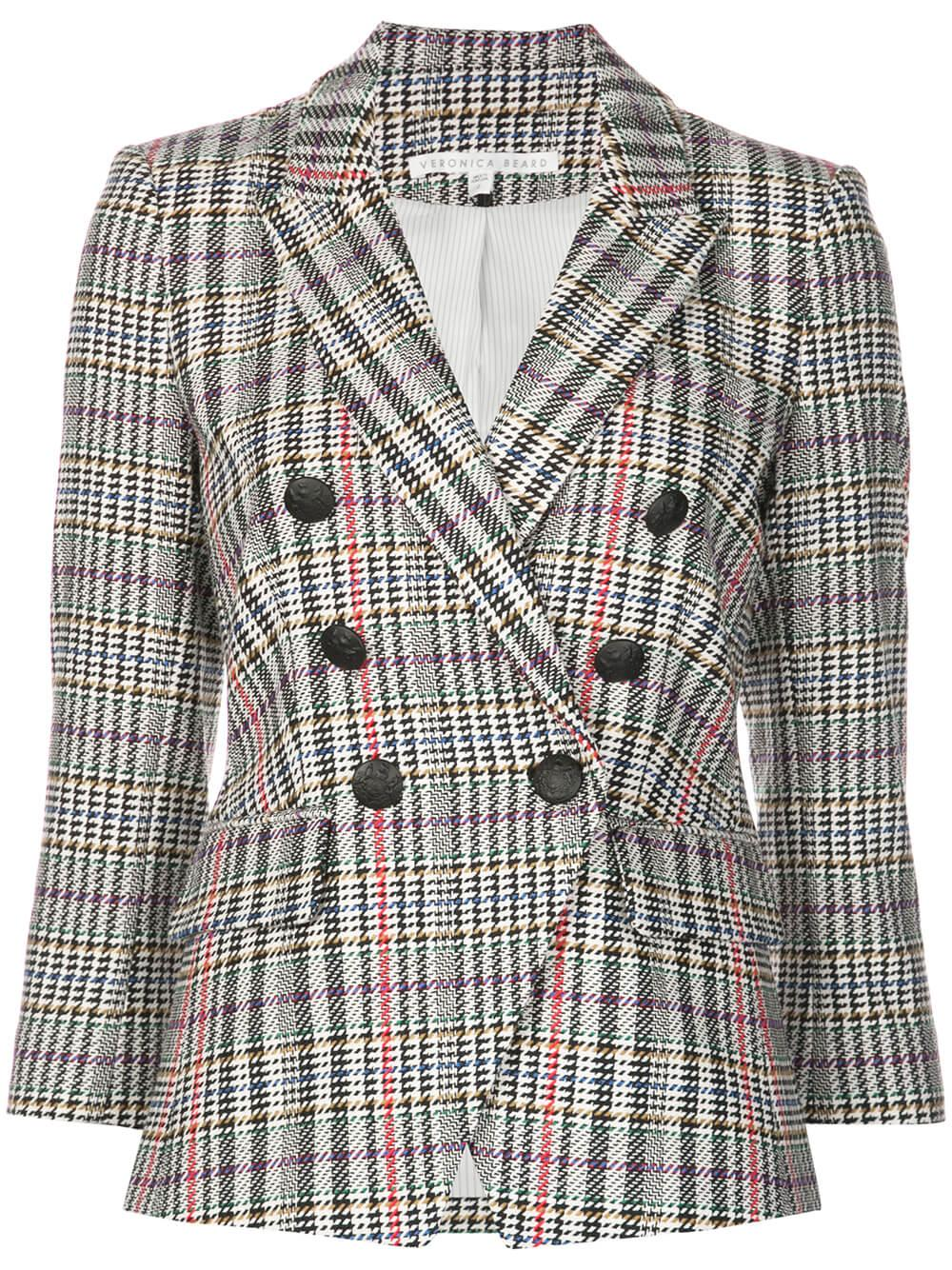 Empire Plaid Dickey Blazer