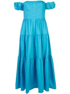 Elio Off Shoulder Midi Dress