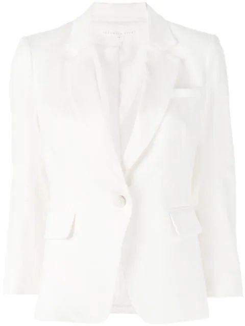 Linen Schoolboy Jacket Item # CORELN0081291-S20