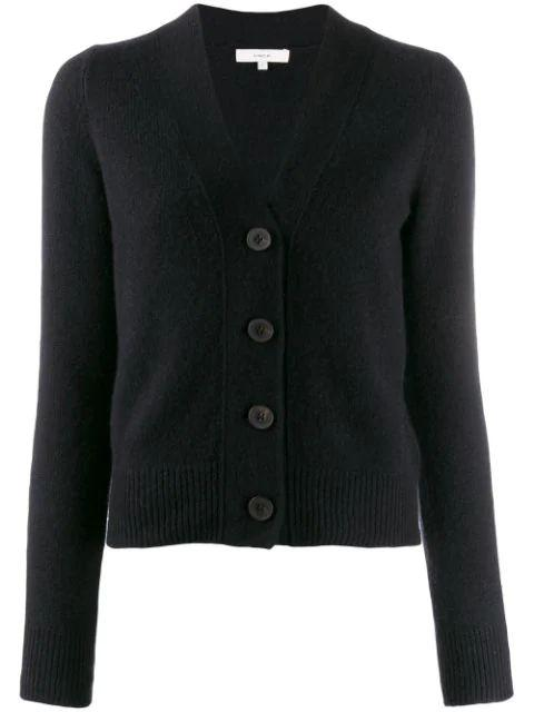 Shunken Button Cardigan