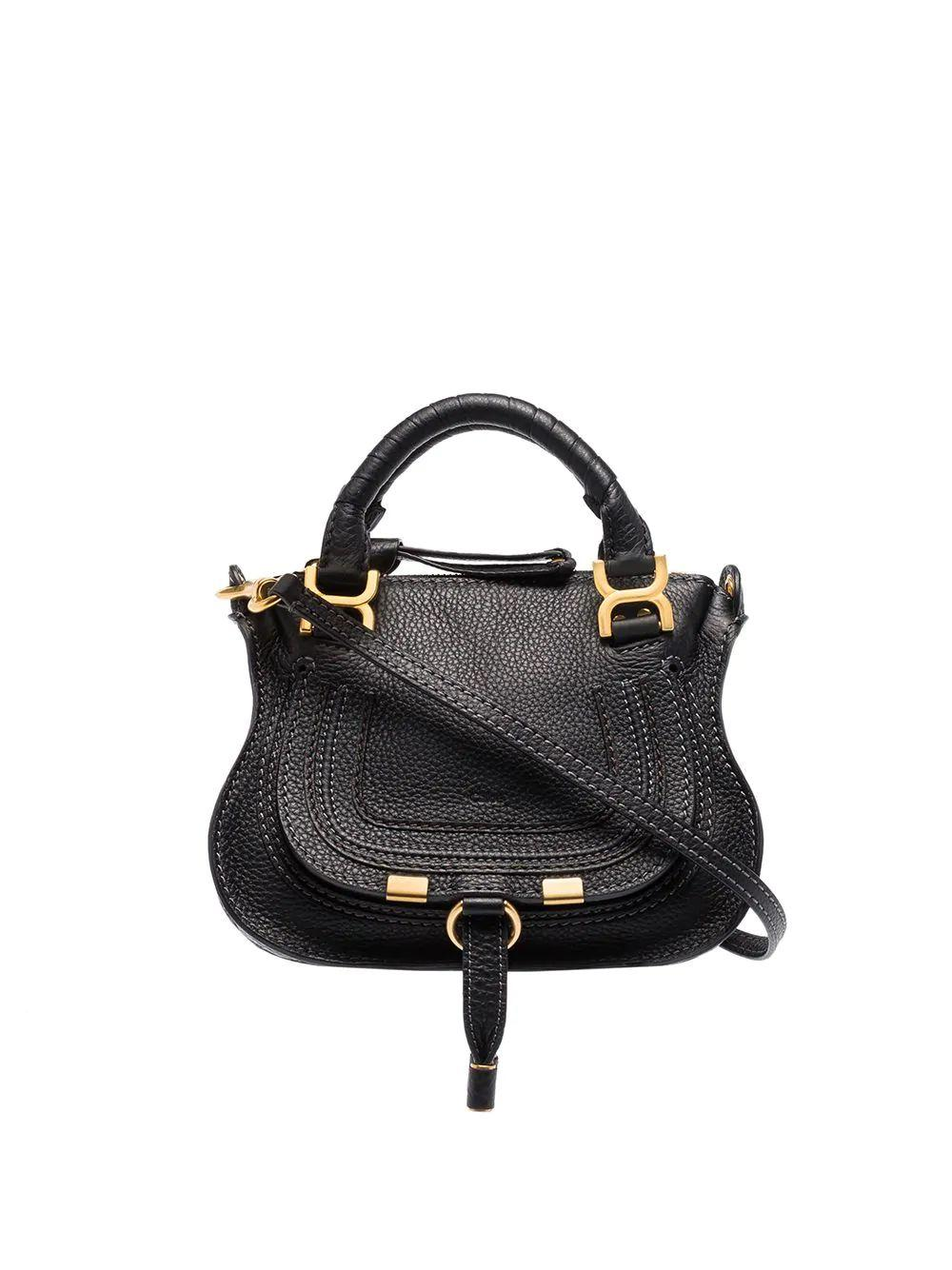 Marcie Mini Grained Leather Double Carry Item # CHC20SS827161001