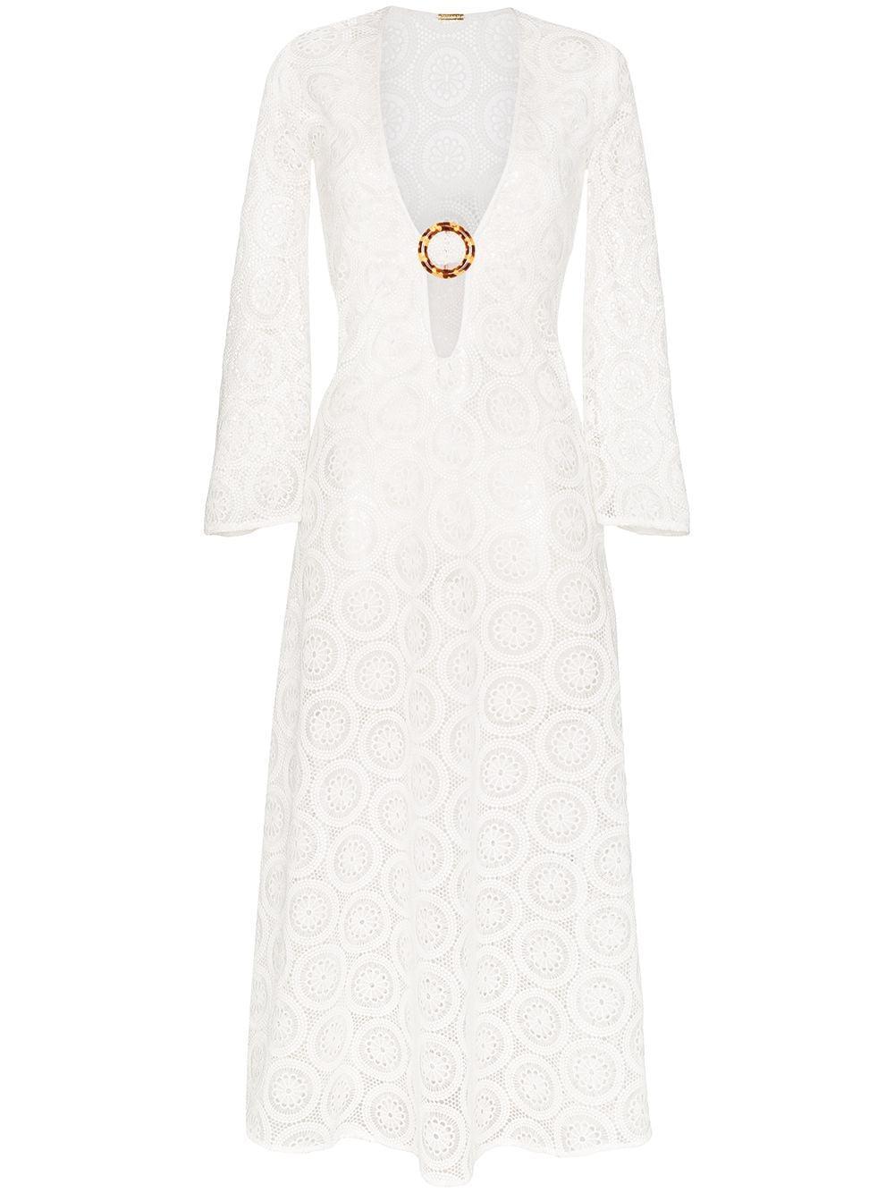 Jane Crochet Long Dress Item # DBO1196