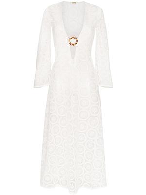 Jane Crochet Long Dress