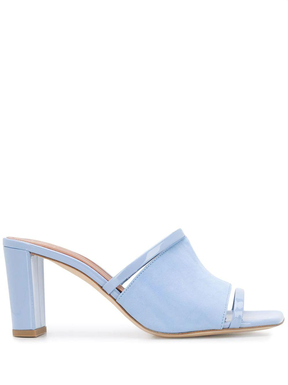 Suede Patent 70mm Strappy Sandal