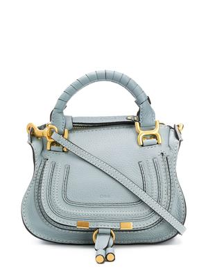 Marcie Mini Grained Leather Double Carry