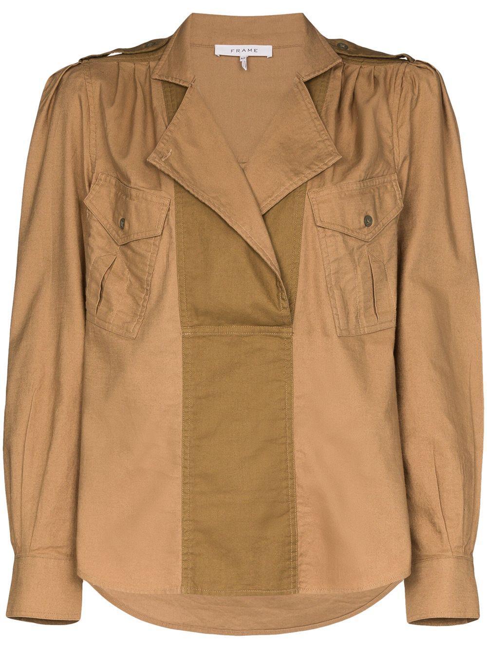 Safari Pocket Long Sleeve Top