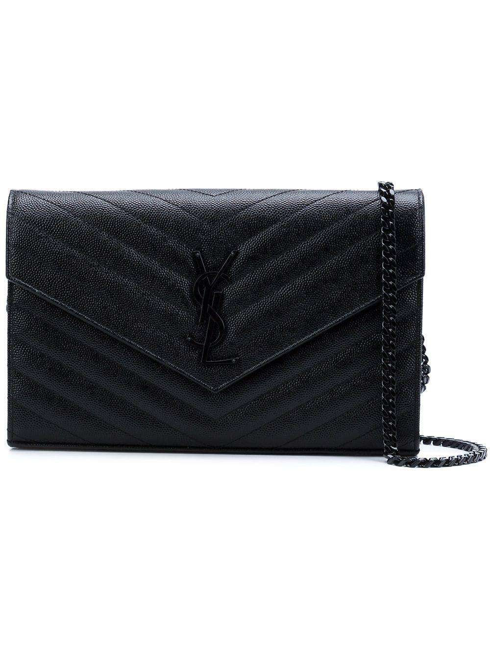 Leather Wallet On Chain Item # 377828BOW08-R20