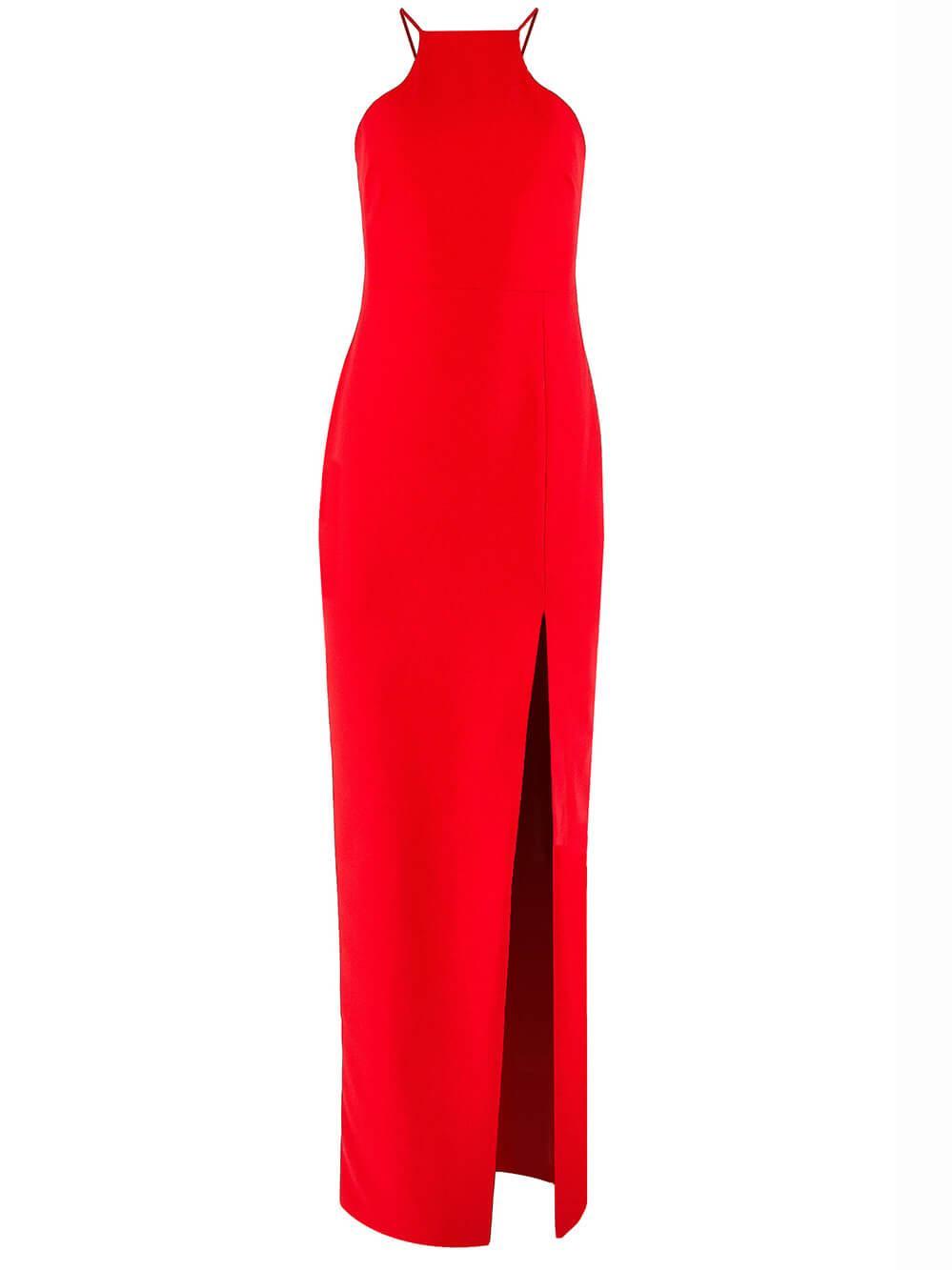 Rocco Halter Neck Gown Item # YD1026001LYB-C
