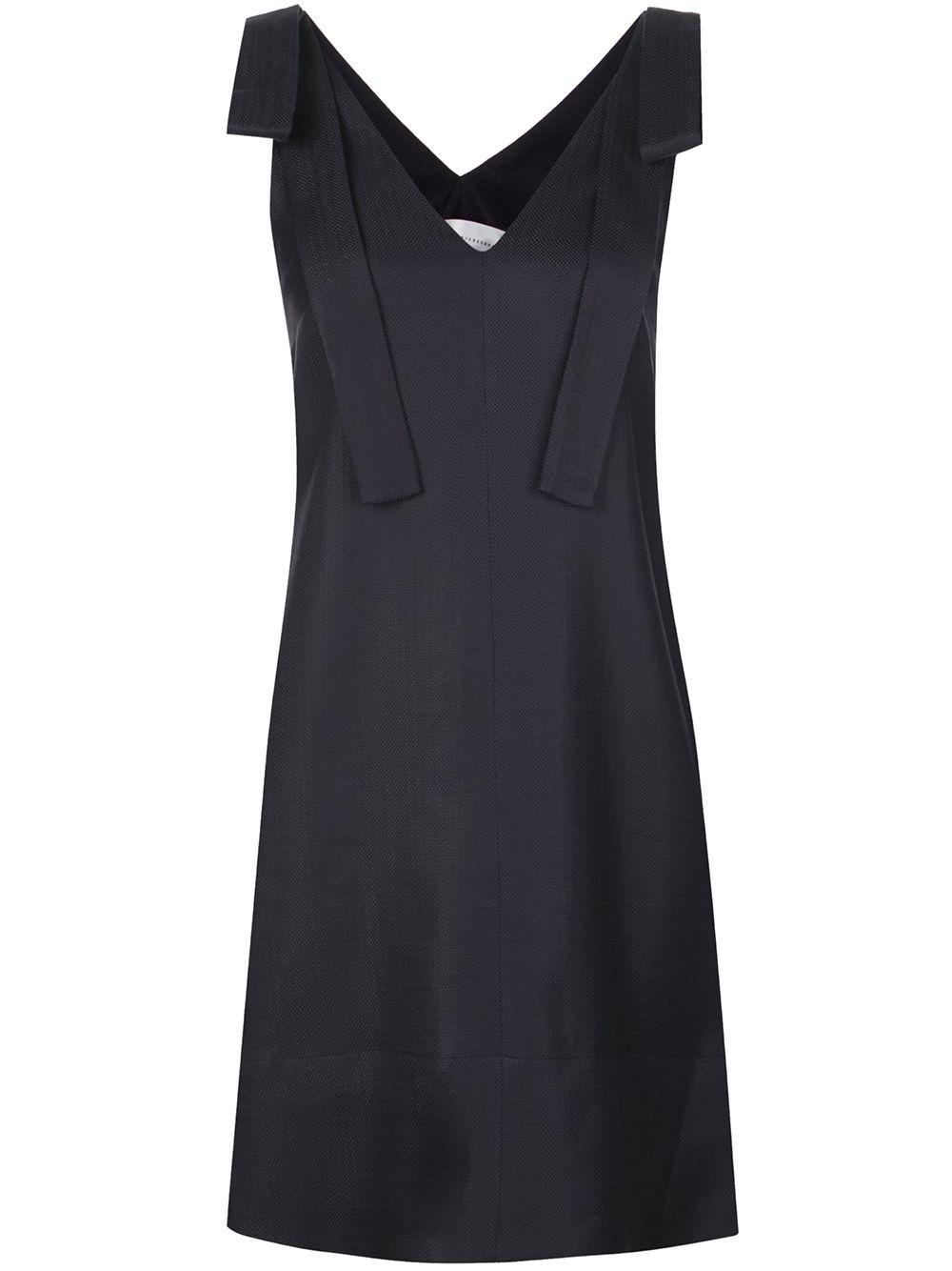 Sleeveless Tie Shoulder Dress