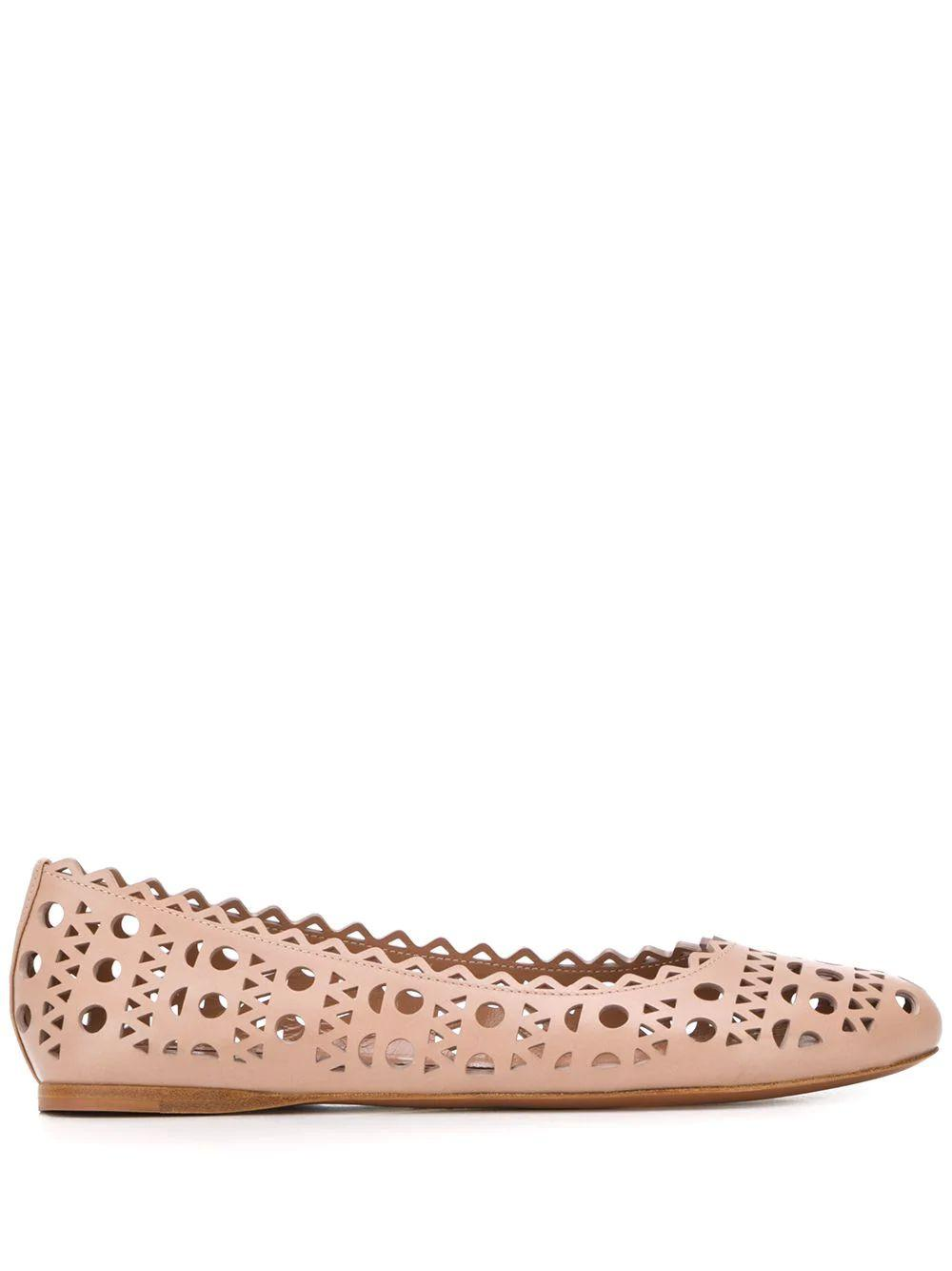 Ballet Flat With Cutouts Item # AS3F326CE77