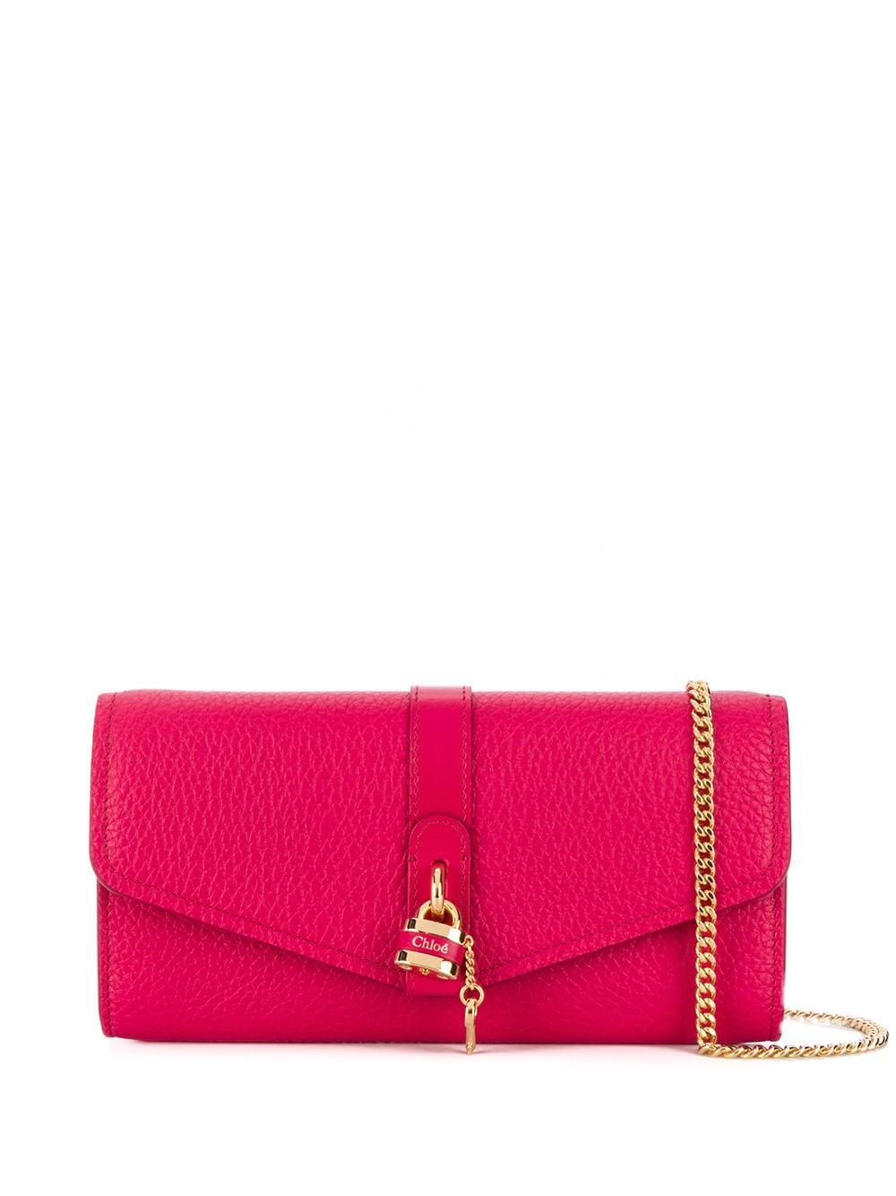 Aby Grained Leather Long Wallet Item # CHC20SP314B716BB