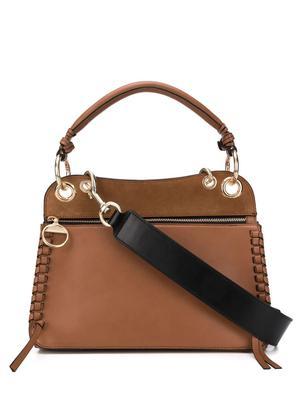 Ellie Whipstitch Shoulder Bag