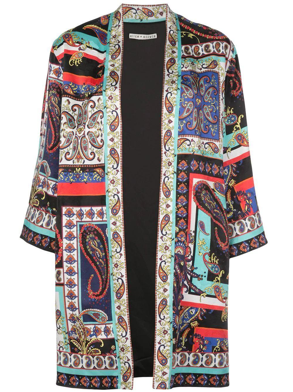 Koko Patchwork Kimono Item # CC912P60202