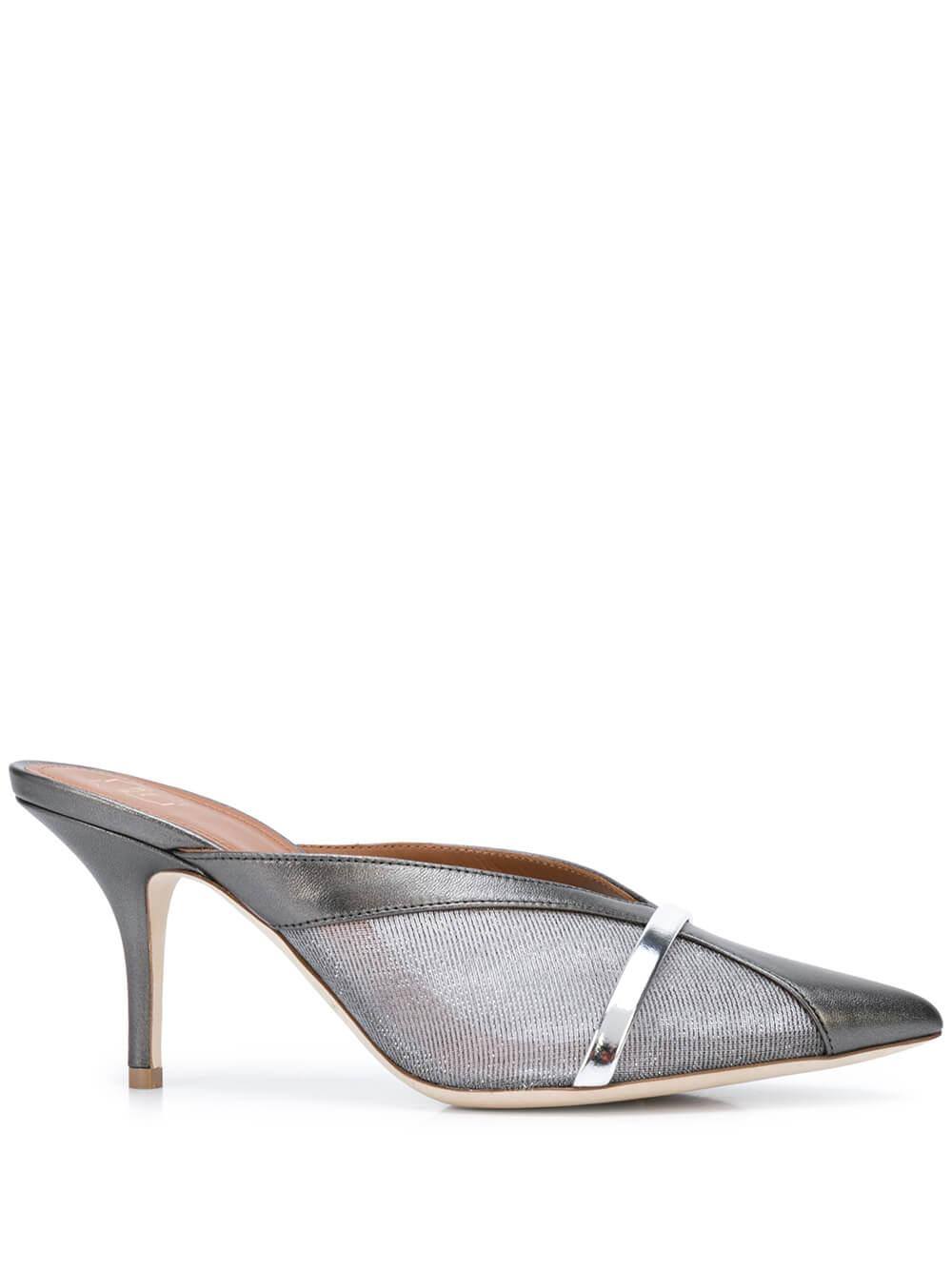Bobbi Metallic Nappa 70MM Mule