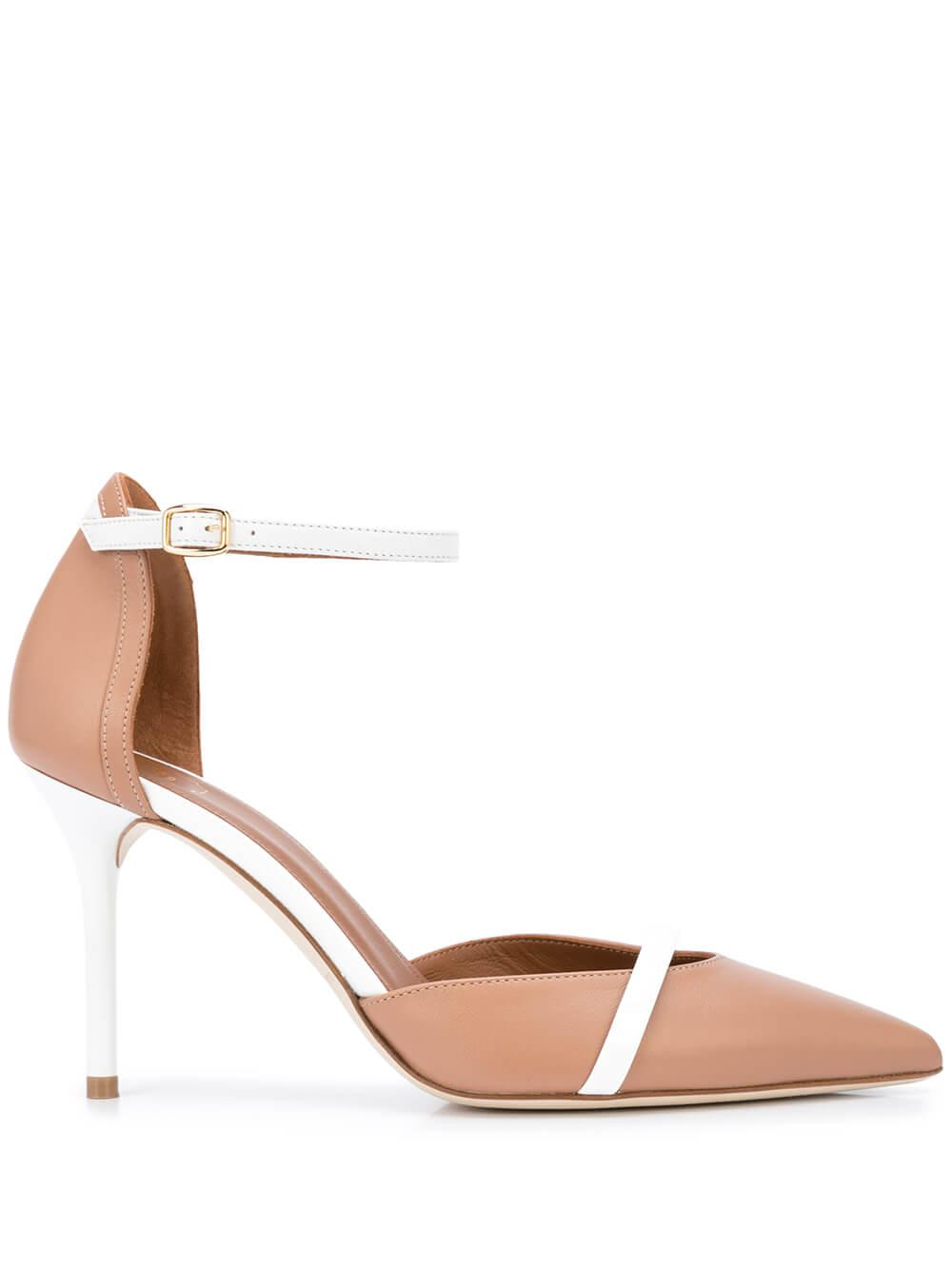 Booboo Nappa 85mm Pump With Ankle Strap Item # BOOBOO85-3