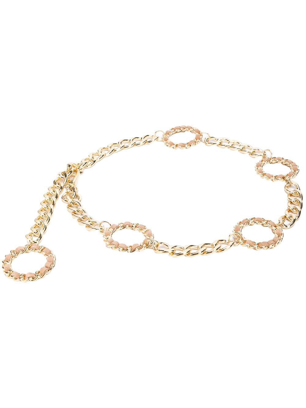 Margaux Circle Chain Belt Item # BW446-455CH-R20
