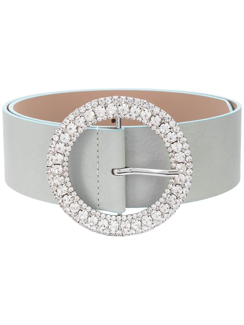Clara Crystal Round Waist Belt Item # BW497-100LE