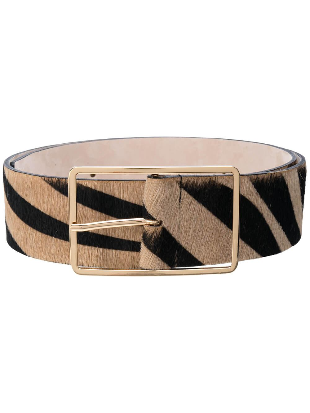 Milla Calf Hair Belt Item # BW512-000HR