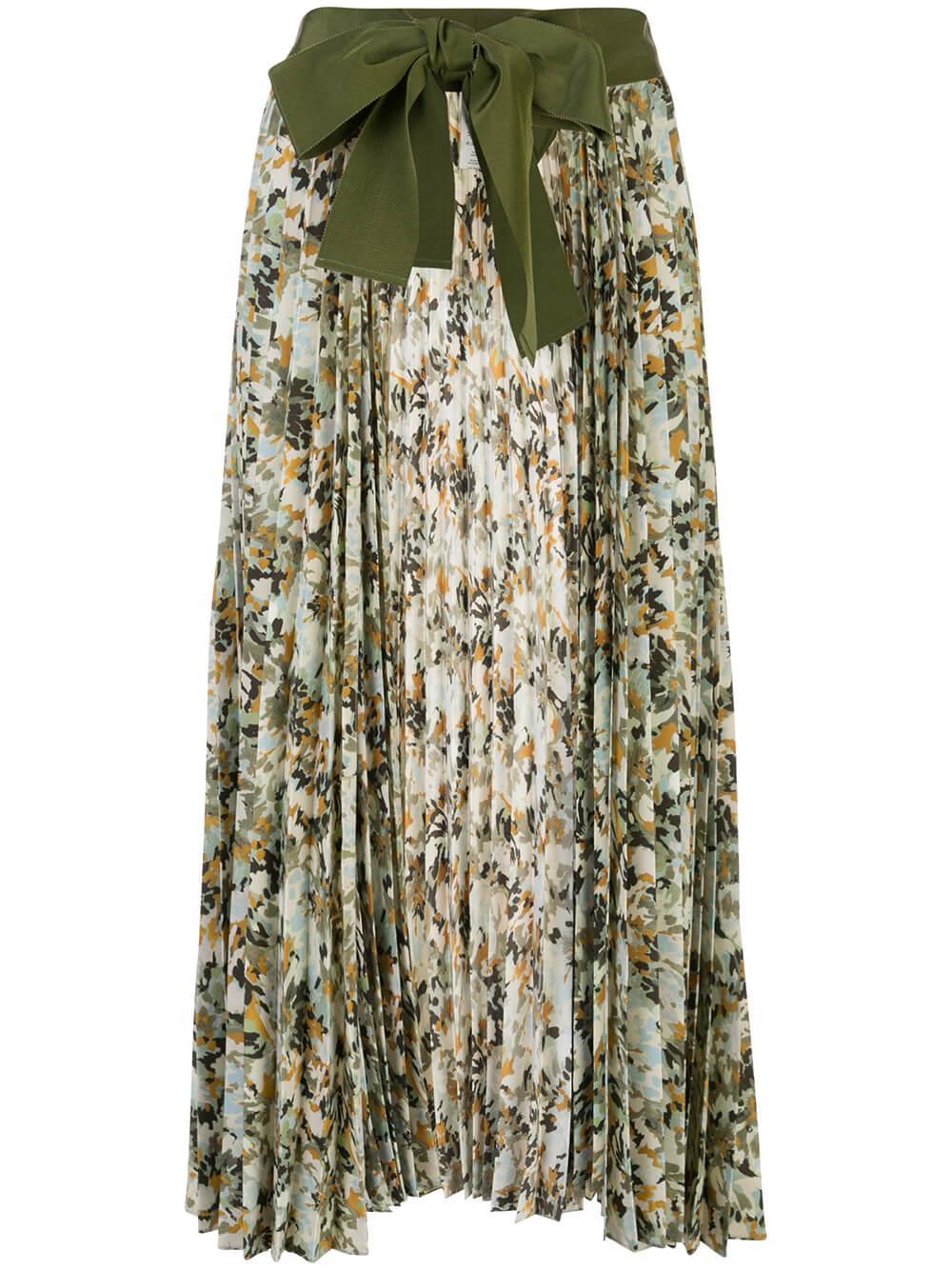 Blanche Pleated Skirt Item # BLANCHE-SKIRT