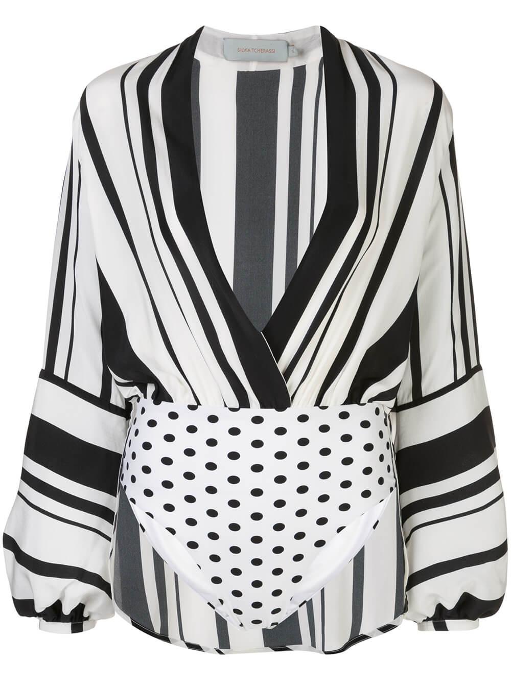 Hilda Long Sleeve Striped Top Item # HILDA-TOP