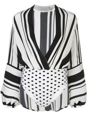 Hilda Long Sleeve Striped Top