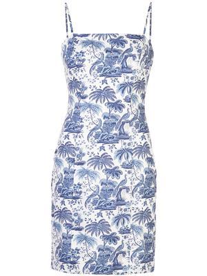 Basset Toile Midi Dress