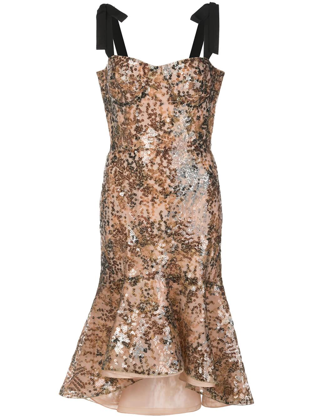 Helena Sleeveless Sequin Dress