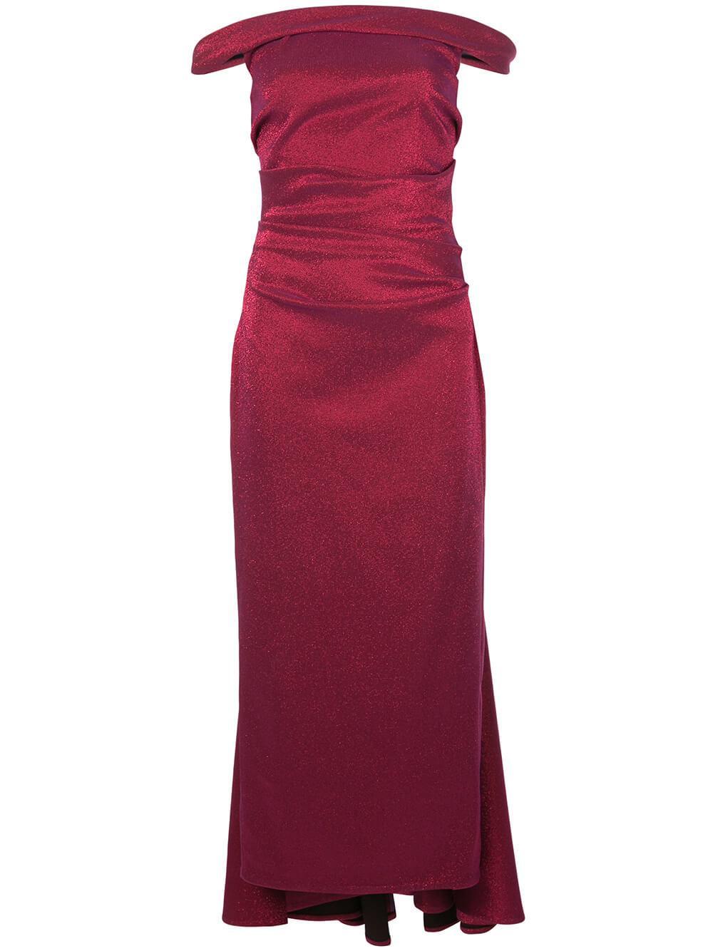Sleeveless Iridescent Stretch Dress
