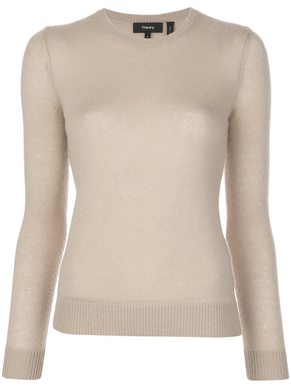 Feather Crew Neck Sweater Item # J0118711-S20