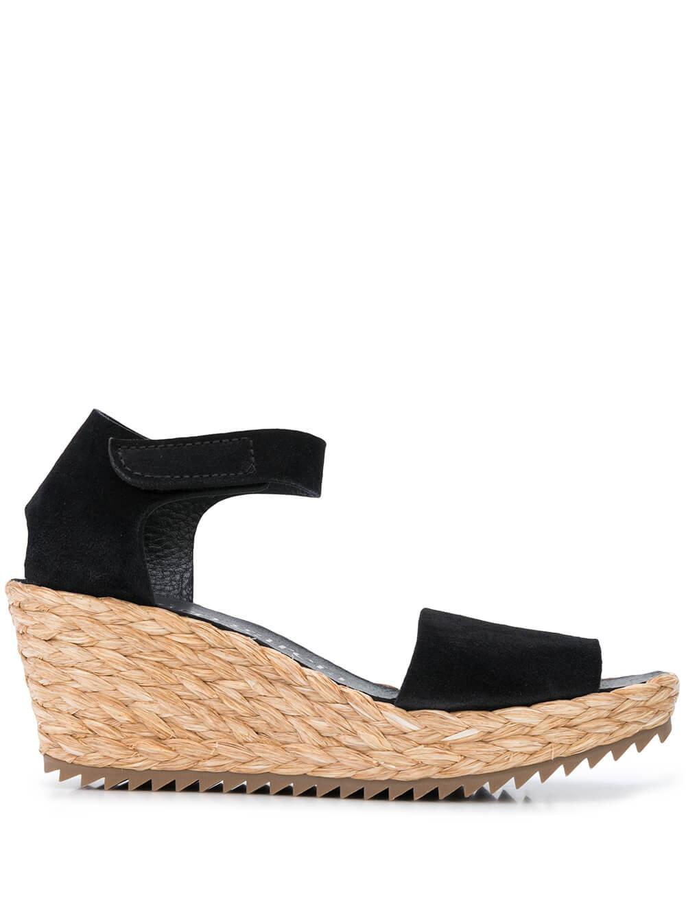Espadrille Wedge With Ankle Strap