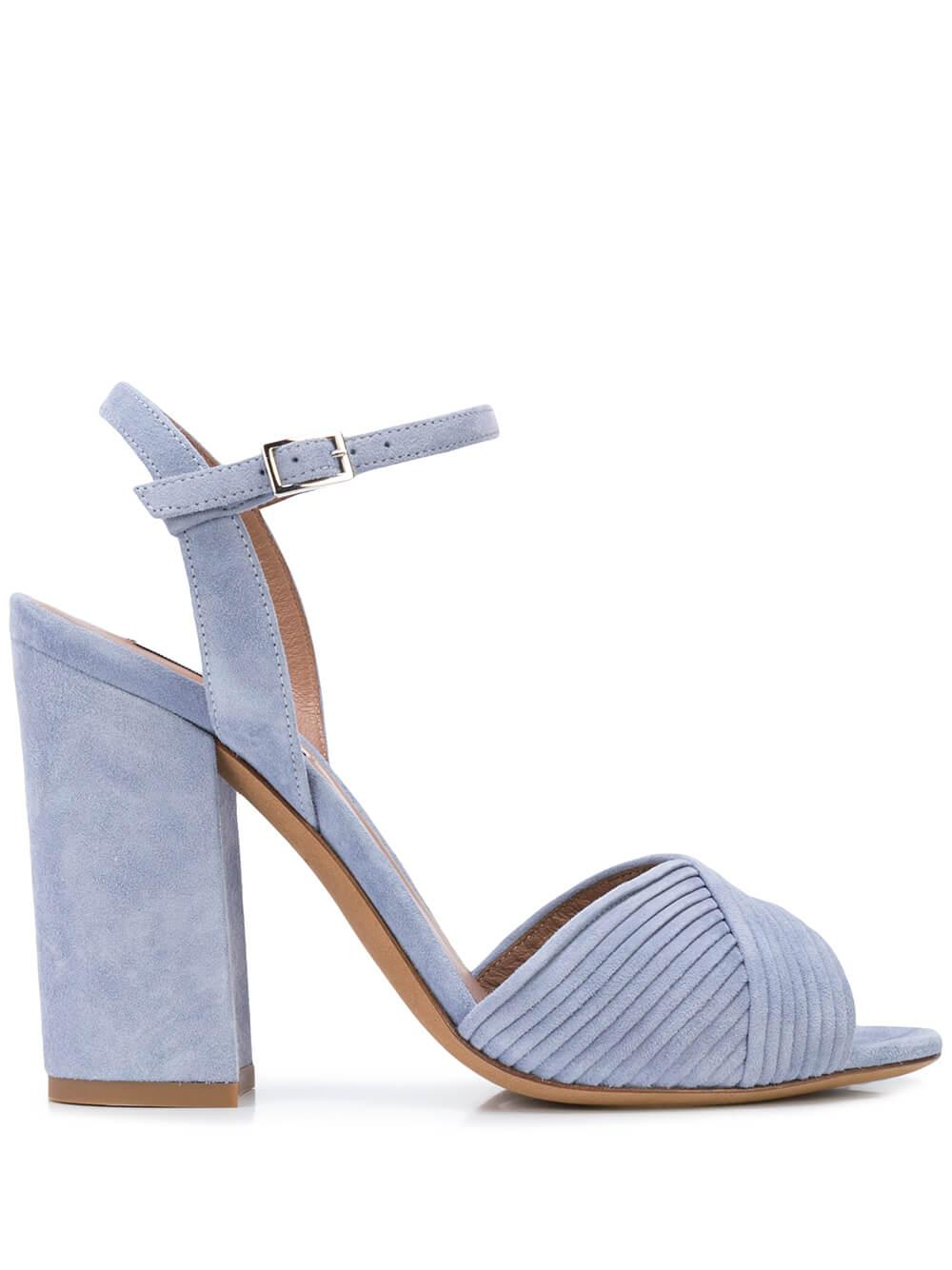 Kali Suede Block Heel Sandal