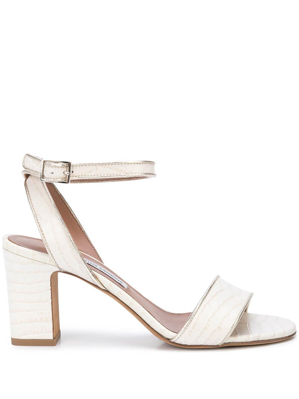 Leticia Croc 75MM Block Heel Sandal