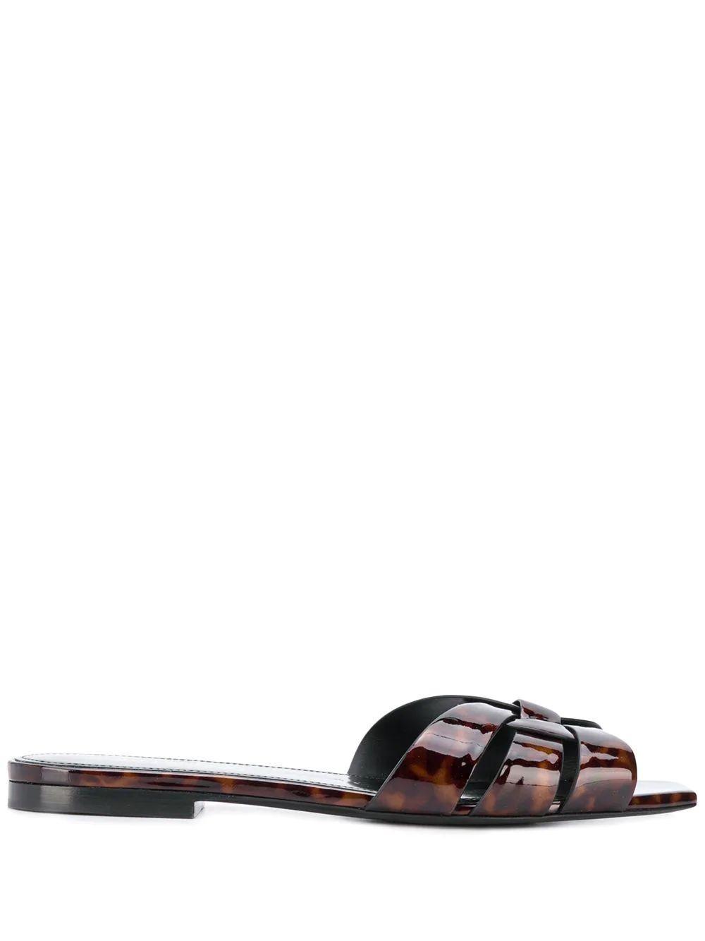 Nu Pieds 5MM Tortoise Slide Sandal