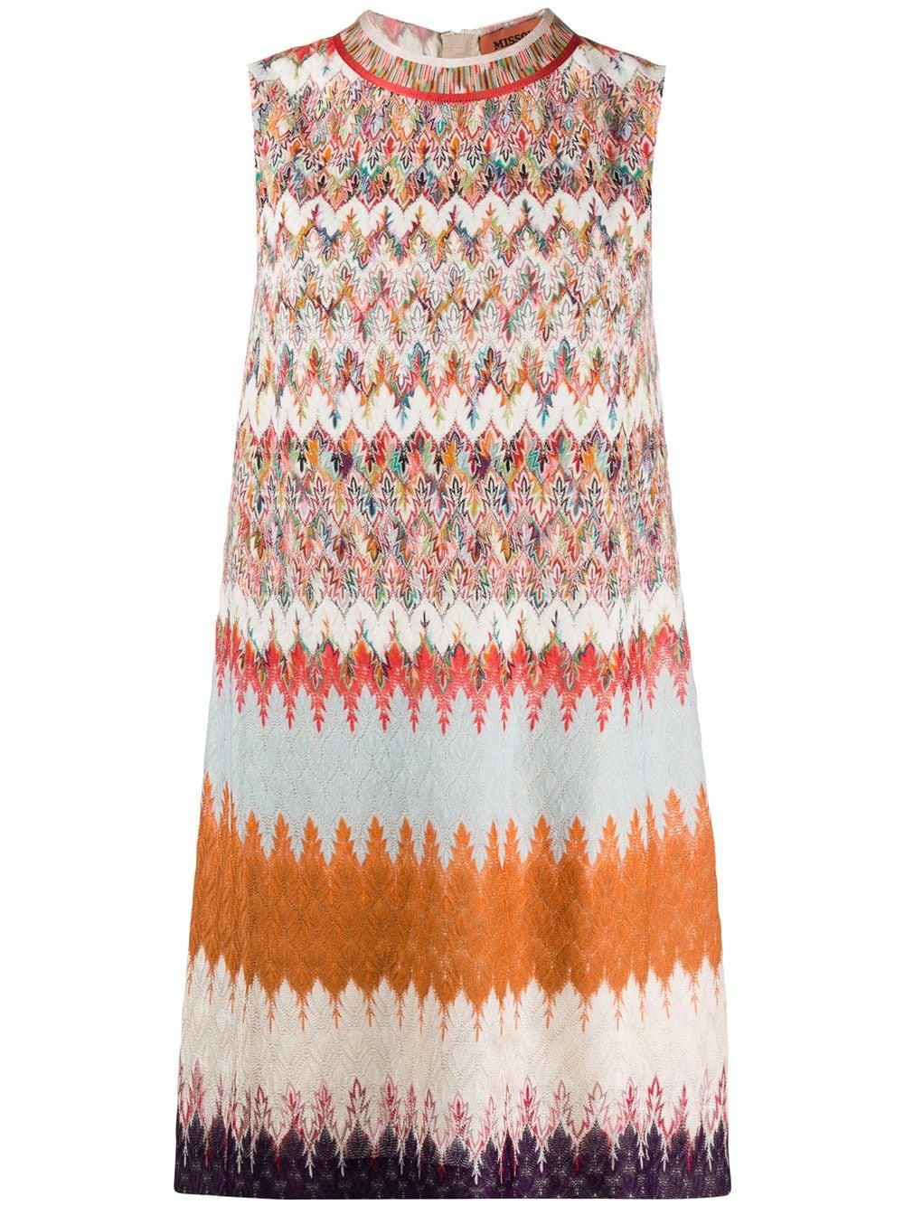 Sleeveless A- Line Dress Item # MDG00513-BR007T