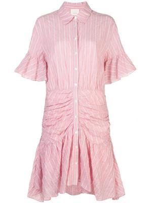 Asher Stripe Poplin Shirt Dress