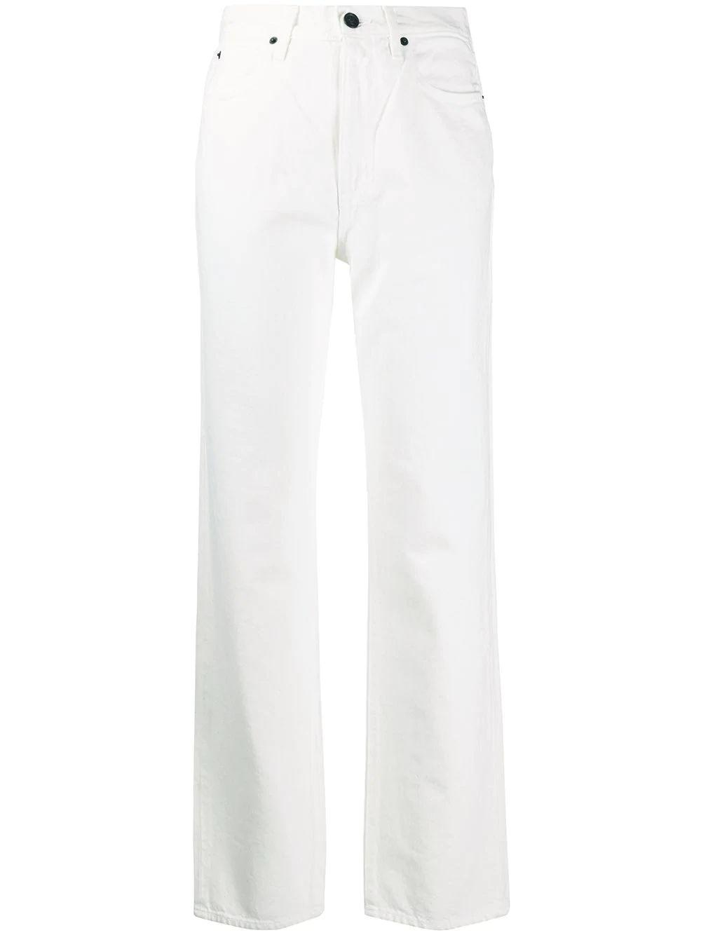 London High Rise Straight Jeans