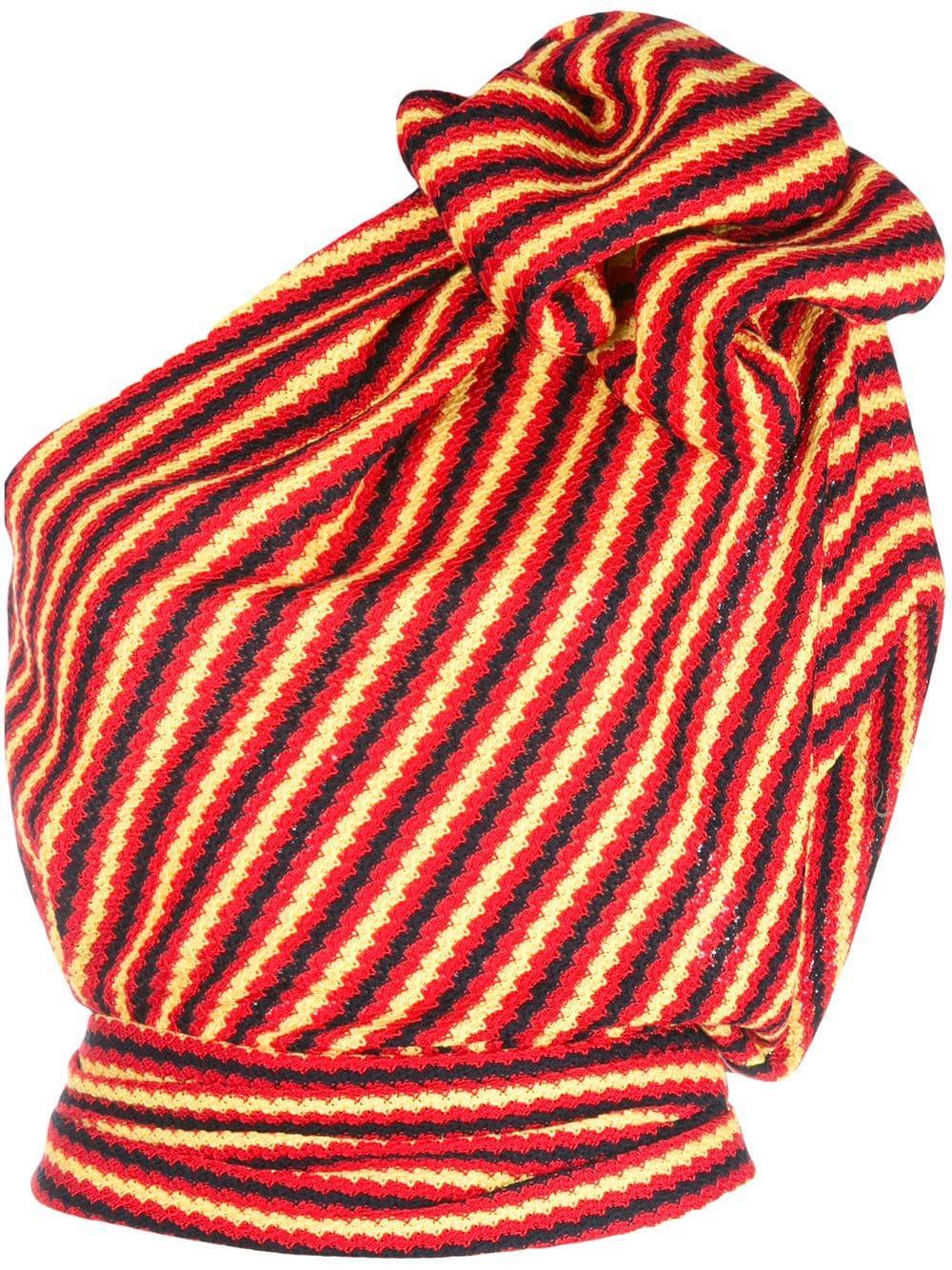 One Shoulder Crochet Jersey Top