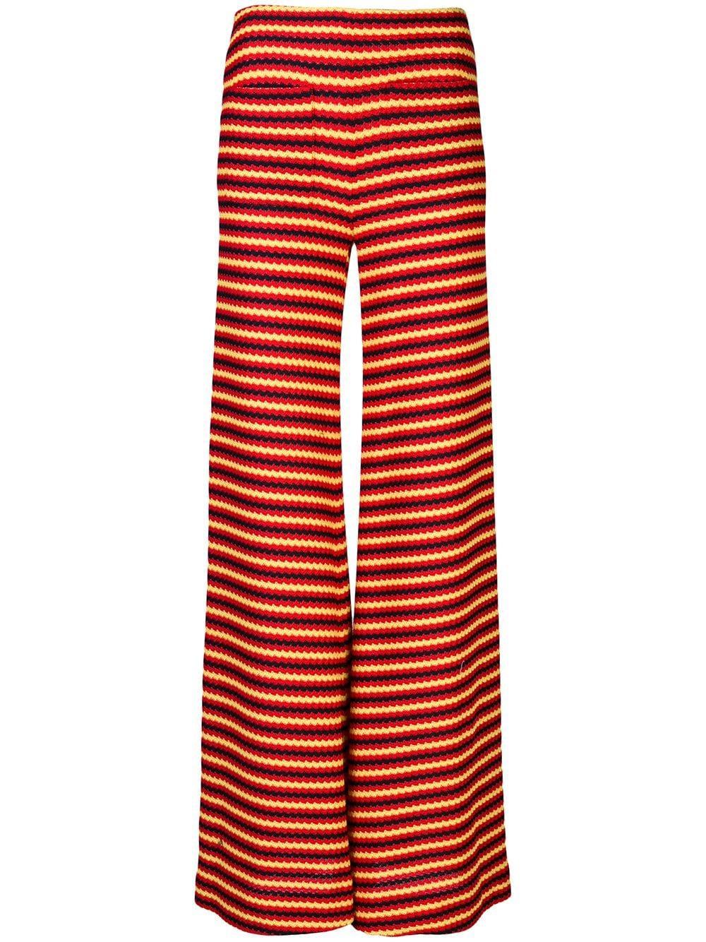 Wide Leg Crochet Jersey Pant