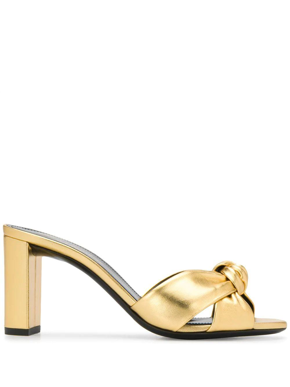 Loulou 75mm Silky Mule Sandal Item # 6201300XQ00