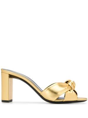 Loulou 75mm Silky Mule Sandal
