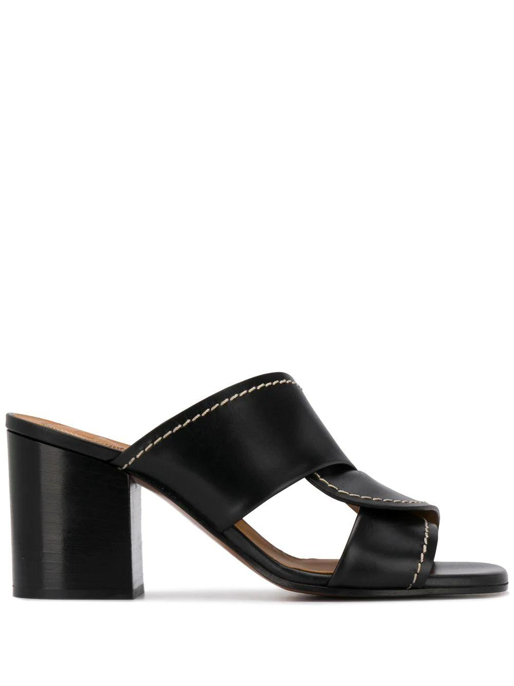 Candice 60mm Slide With Stitch Detail Item # CHC20S27591001