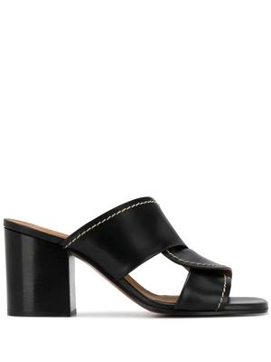 Candice 60mm Slide With Stitch Detail