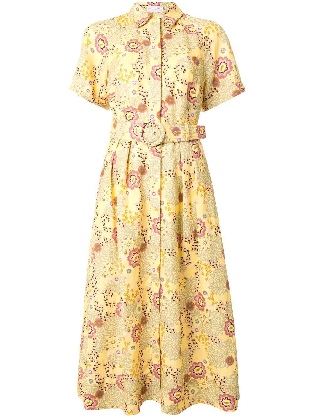 Sahara Short Sleeve Midi Dress Item # 2001-1681